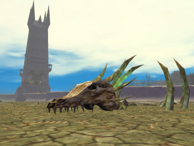 The Field of Bones - Remnant of the war between dragons and iksars - EQ
