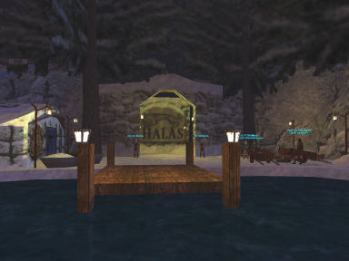 Halas entrance - hometown of the Barbarians - EQ
