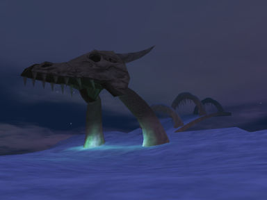 The Dragon Bridge in Iceclad - Velious
